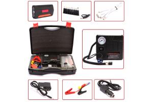 Универсальный Power Bank Jump Starter 30000 mАh. Для зарядки ноутбуков, девайсов + пуско-зарядное устройство+мини компрессор TM19A