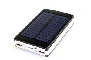 Power Bank c солнечной батареей+LED 4000 mАh