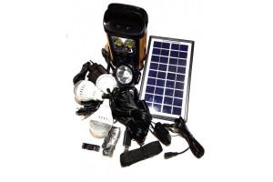 Портативная универсальная солнечная система GDLITE GD-8131 (коногонка)